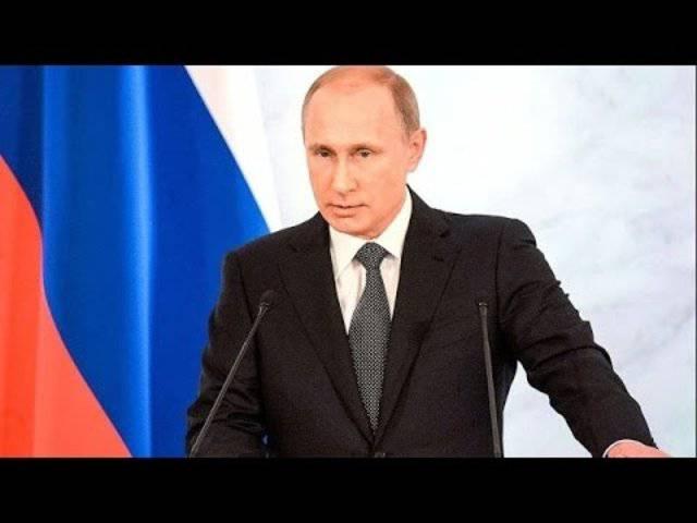 Live: Wladimir Putins Rede zur Lage der Nation - mit englischer Übersetzung