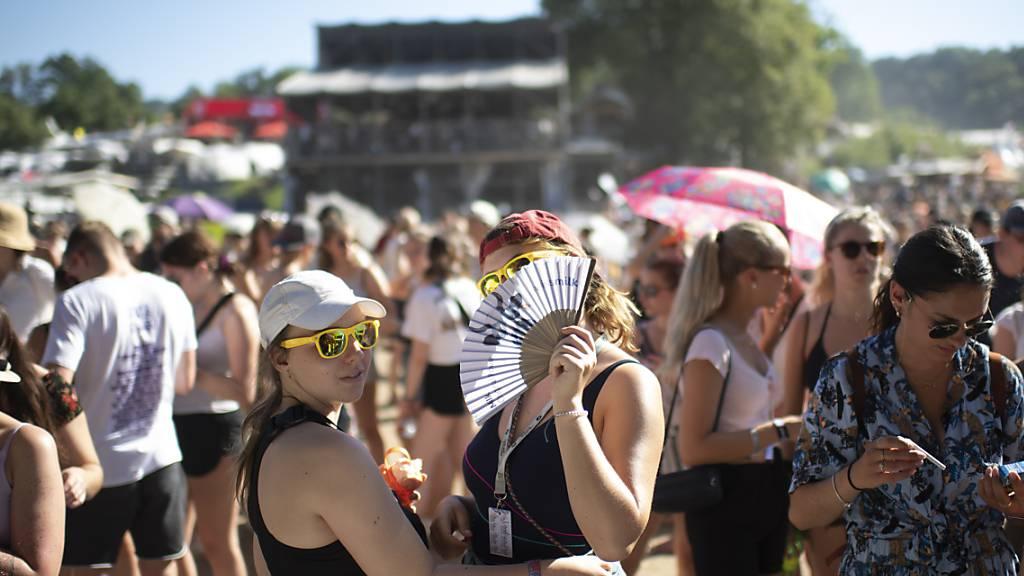 Die St. Galler Regierung fordert einen verbindlichen Entscheid des Bundesrats zu den Sommerfestivals - wie hier dem Open-Air St. Gallen. Die Veranstalter brauchten Planungssicherheit (Archivbild).