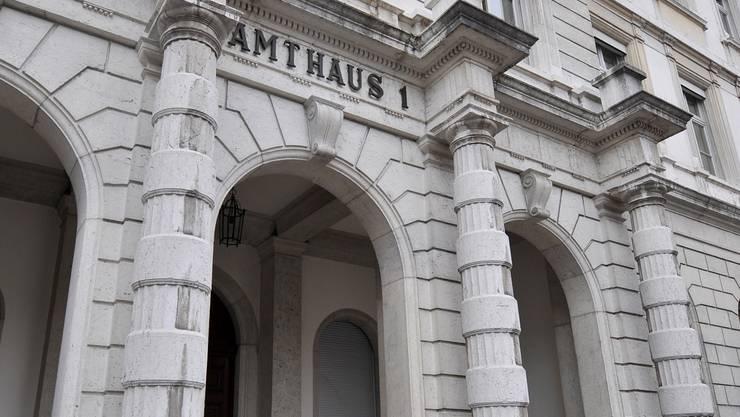 Drei Tage dauert die Gerichtsverhandlung im Amtsgericht Bucheggberg-Wasseramt.