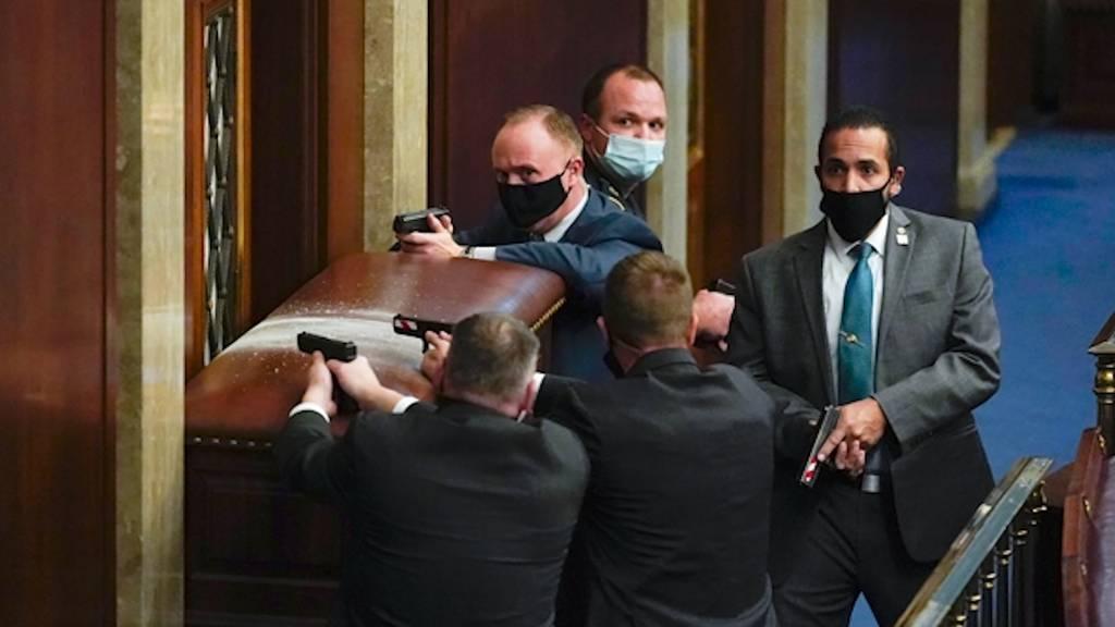 Eskalation der Gewalt in Washington: Eine Tote, mehrere Verletzte