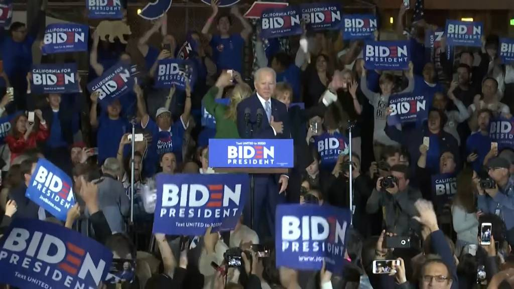 Super Tuesday: Joe Bidens überraschendes Comeback