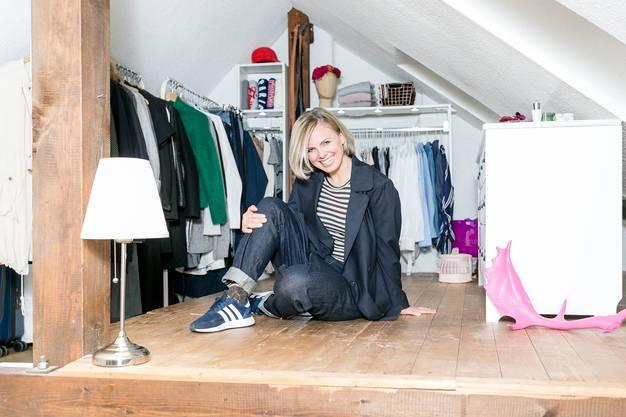 Für Katrin Legandt ist der Blick in den Kleiderschrank ein Blick in die Seele.