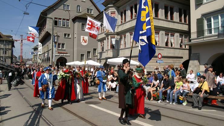 Dieses Jahr wird Liechtenstein Gast sein am Sechseläuten (Archivbild).jpg