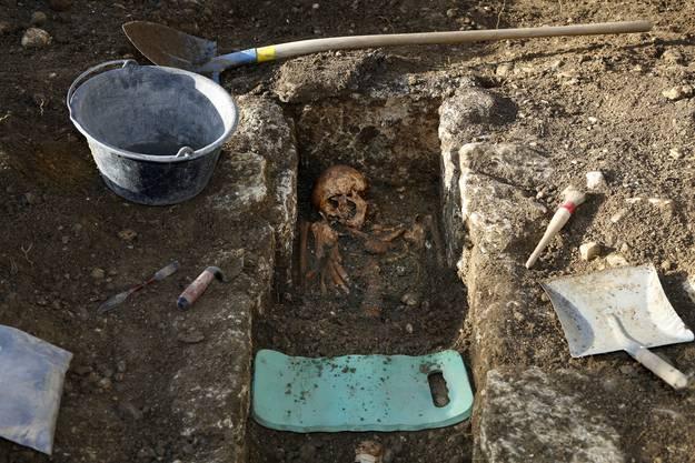 Die meisten Gräber sind noch gut erhalten.