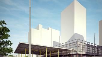 So könnte dereinst der Liebrüti-Turm in Kaiseraugst aussehen.