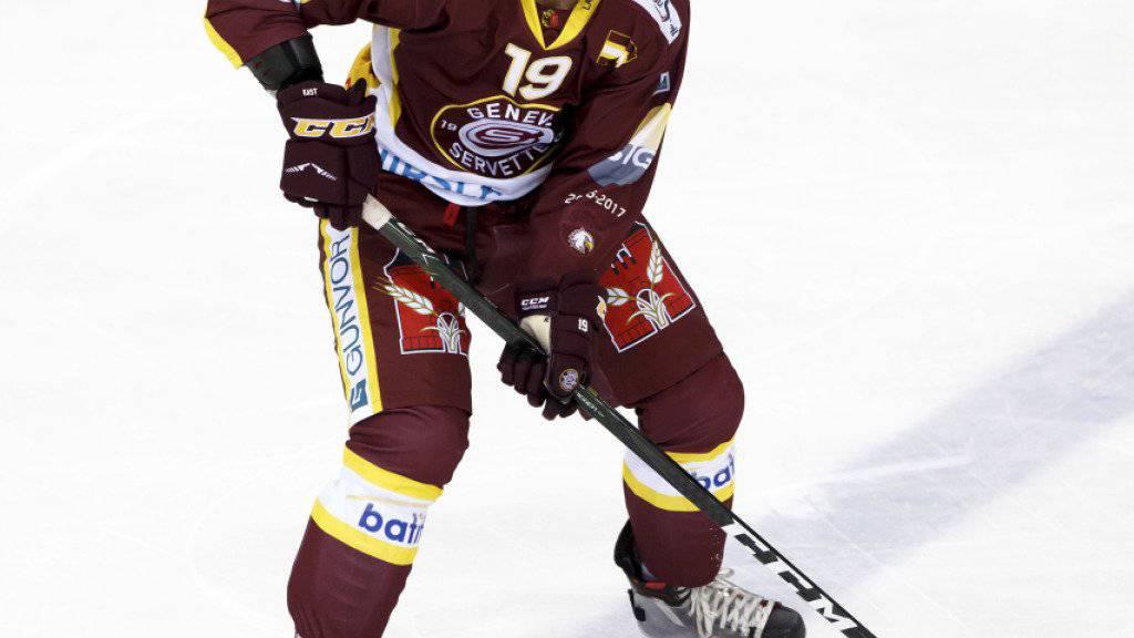 Spiel ab nächster Saison in Zug: Servettes Timothy Kast