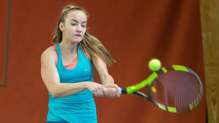 Bojana Klincov konnte über 200 Ränge in der Junioren-Weltrangliste gutmachen.