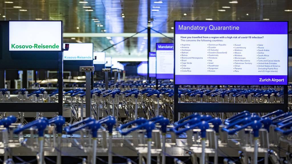Passagierzahlen am Flughafen Zürich bleiben tief