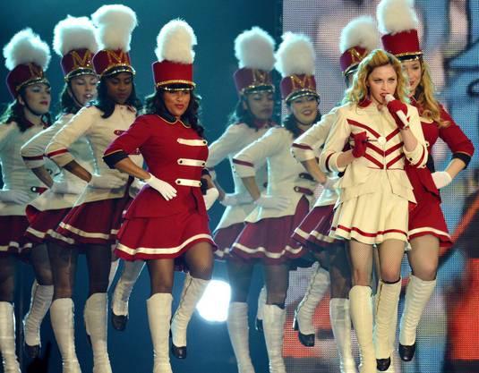 Superstar Madonna zeigte, was sie kann: total durchorchestrierte Megashow mit wenig Spontaneität.