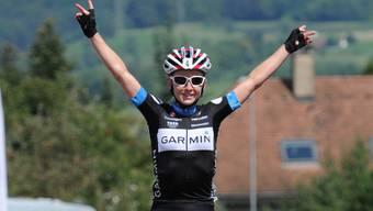 Auf dem Rad fuhr Emma Pooley der Konkurrenz davon und feierte den vierten Sieg in Folge.