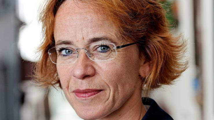Die Basler SP-Bundesratskandidatin und Regierungsrätin Eva Herzog.