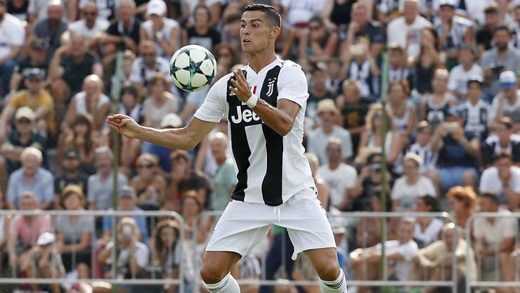 Will mit Juventus Turin auch die Serie A erobern: Cristiano Ronaldo