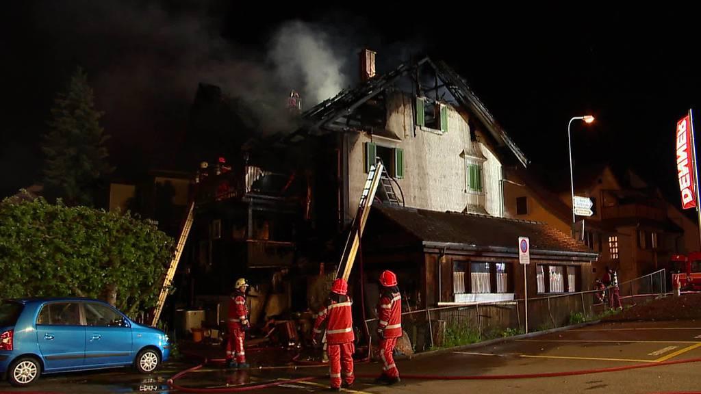 Brand Eschenbach: Wie Bewohner die Nacht erlebt haben