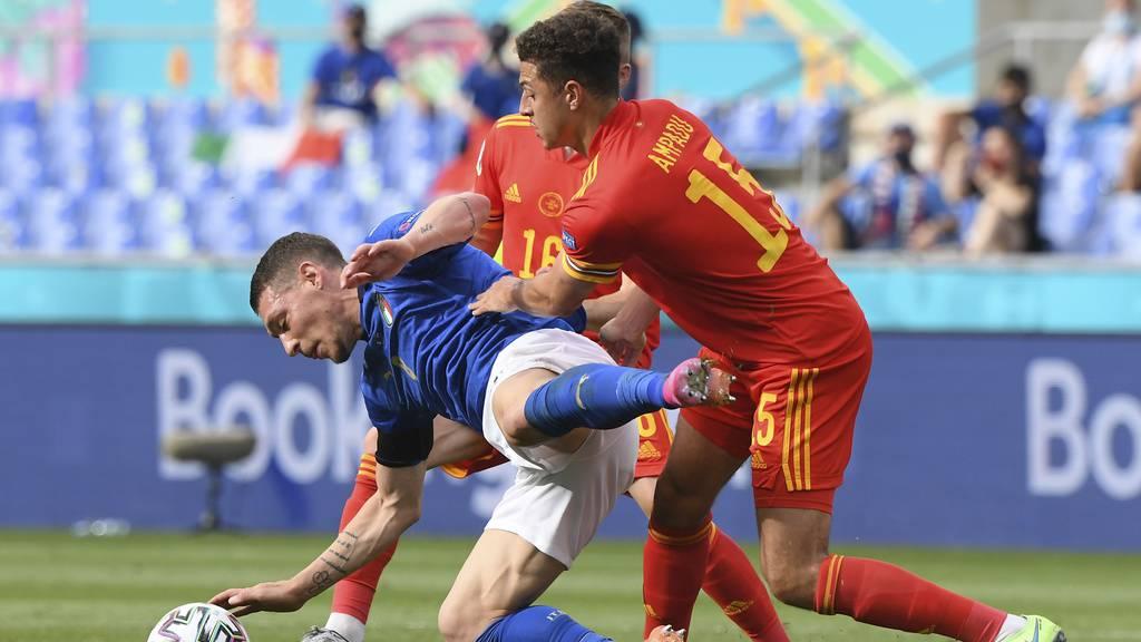 Italien gewinnt auch das dritte Gruppenspiel