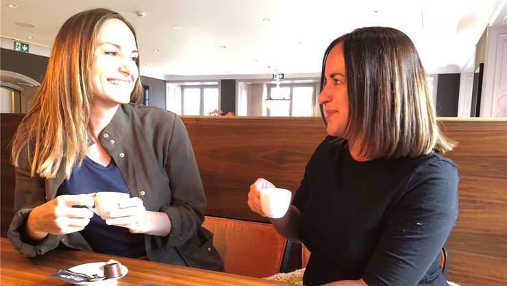 «Best Friends»: Die Autorinnen Zoe Torinesi (l.) und Jacqueline Grütter.