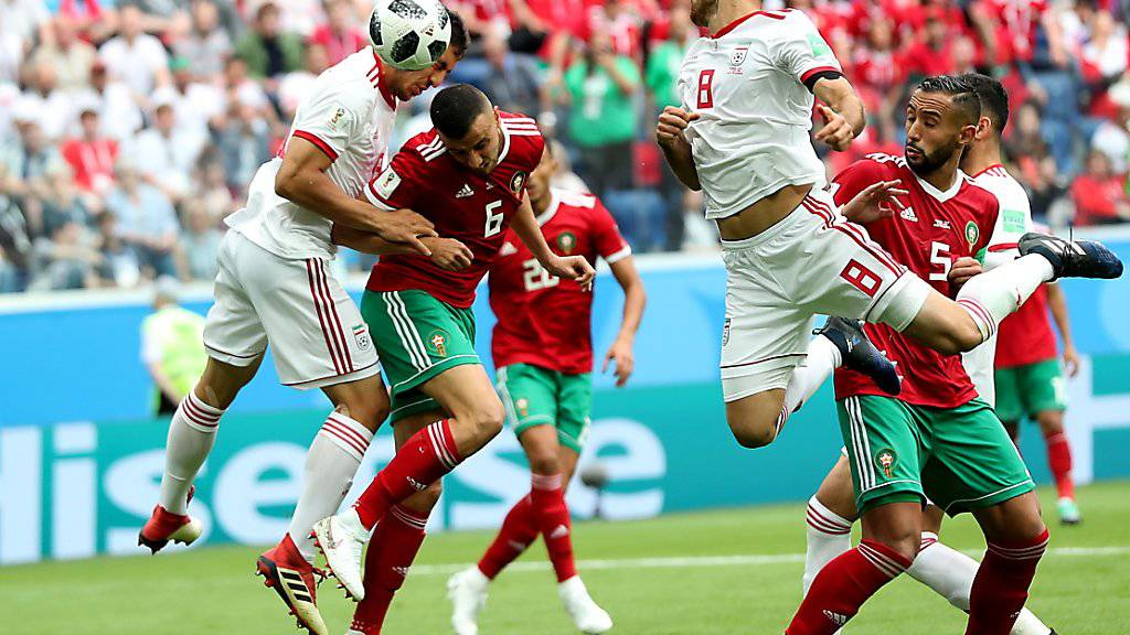 Marokko und der Iran schenkten sich nichts