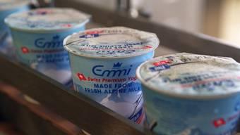 Emmi steigt in die US-Joghurtproduktion ein (Archiv)