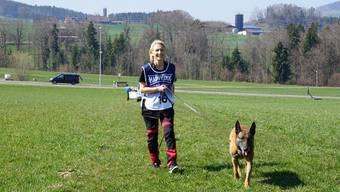 Hundewettkampf in Reinach