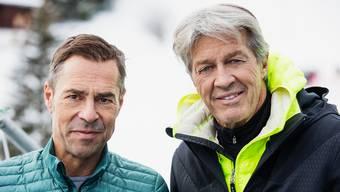 Matthias Hüppi (l.) und Bernhard Russi (r.) kommentierten seit 31 Jahren zusammen.