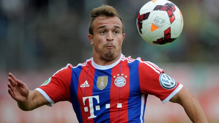 Xherdan Shaqiri ist unglücklich über seine Joker-Rolle bei Bayern München