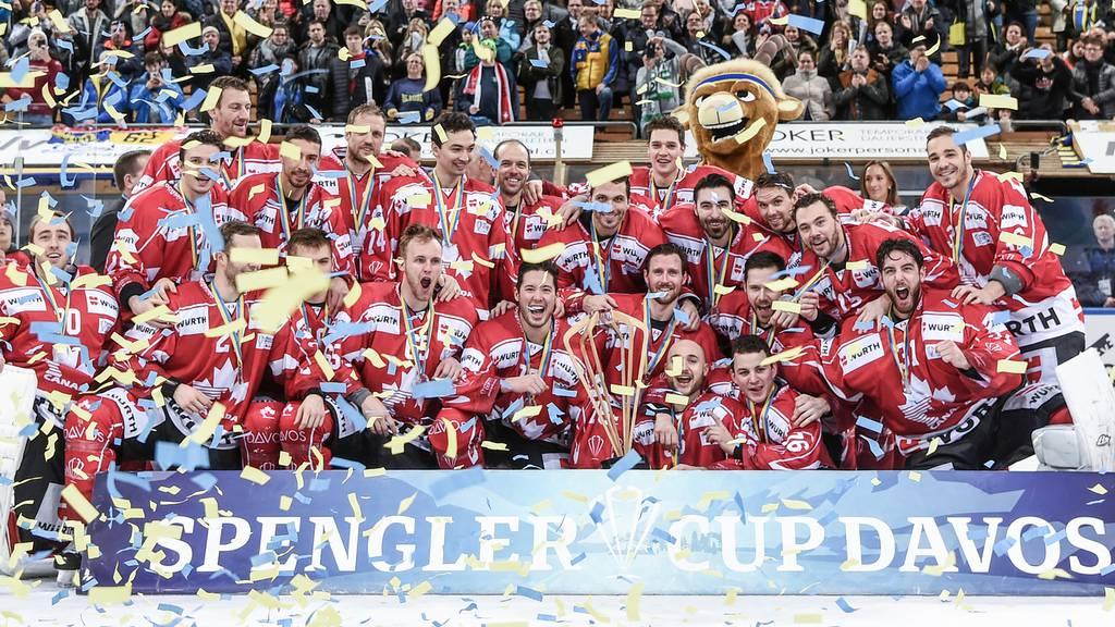 Kanada gewinnt Spengler Cup