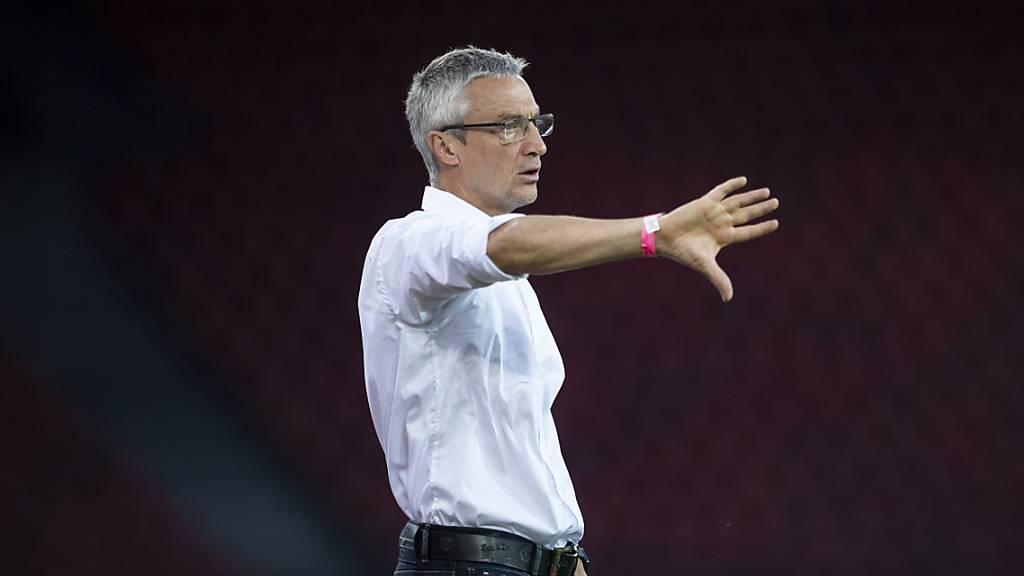GC trennt sich von Trainer João Pereira
