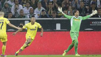 Gladbach-Goalie Yann Sommer nach seinem Gegentreffer