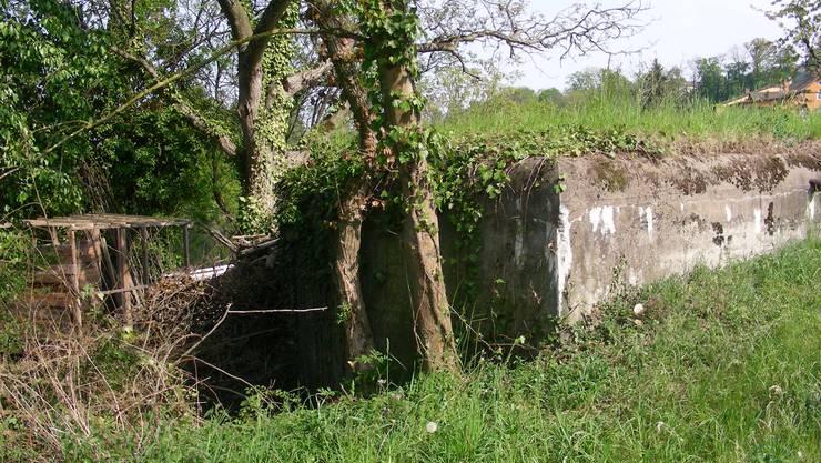 Ein Bunker in der Nachbargemeinde Gebenstorf (Symbolbild)