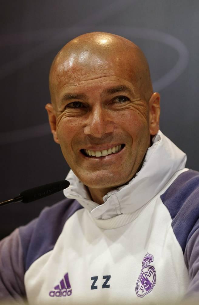 Kann Real-Trainer Zinedine Zidane die Königlichen zum Meistertitel führen?