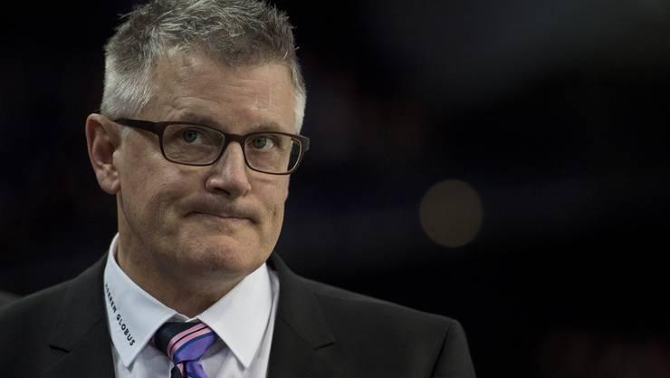 Sorgenvolles Gesicht bei ZSC-Coach Marc Crawford