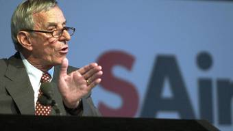 Hannes Goetz, ehemaliger Verwaltungsratspräsident der SAir Group, ist im Alter von 86 Jahren gestorben. (Archivbild)