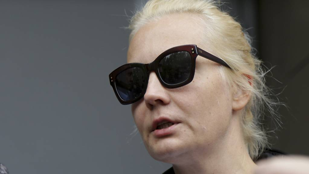 ulia Nawalnaja, die Ehefrau von Alexej Nawalny, im Sommer 2020 in Omsk. Foto: Evgeniy Sofiychuk/AP/dpa