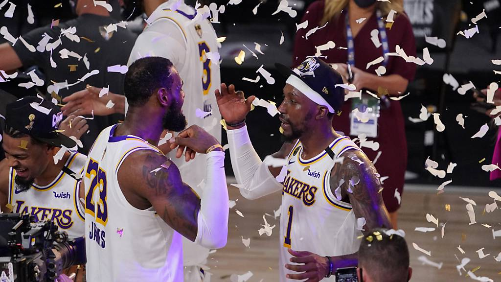 Die Los Angeles Lakers sind zum 17. Mal NBA-Champion