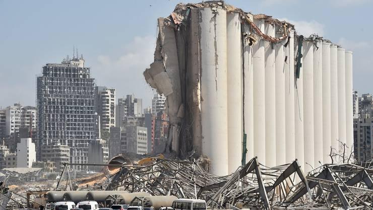 Die Direkthilfe der Schweiz soll die Bevölkerung in Beirut unterstützen.