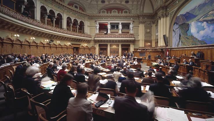 Die Ränge im Nationalrat füllen sich wieder: Diese Woche beginnt die zweitletzte Session der laufenden Legislatur. (Archiv)