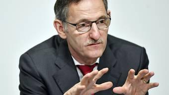 Mario Fehr informierte am Donnerstag über die aktuelle Situation im Asylwesen im Kanton Zürich. (Archivbild)