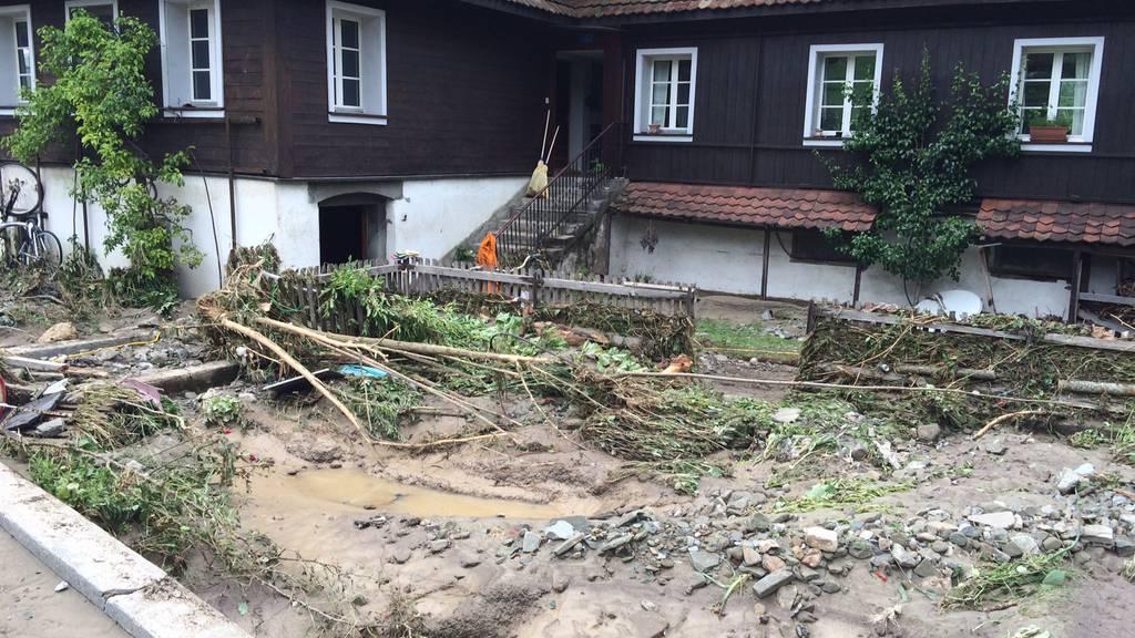 Dauerregen: Zentralschweiz drohen Naturgefahren