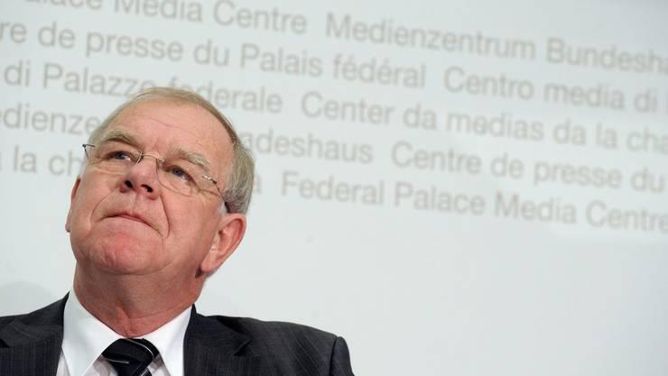 Der Obwaldner Ständerat Hans Hess leitet die Arbeitsgruppe, die die UBS-Affäre untersucht hat.