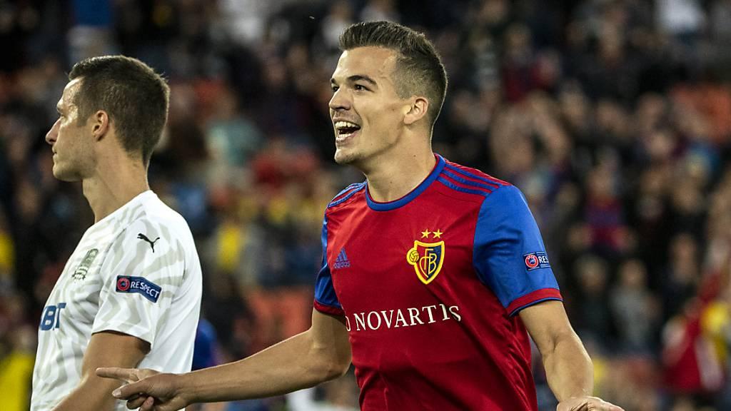Basel startet mit Kantersieg in die Europa League