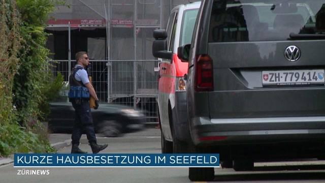 Polizei verhindert Hausbesetzung