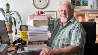 Heinz Walter hat in den letzten Jahren über 30 Bücher geschrieben.