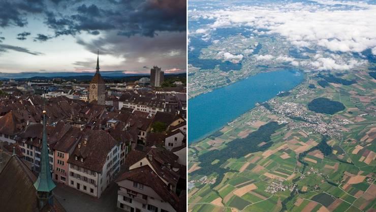 Hat die Kantonshauptstadt bald Seeanstoss? Aarau und Meisterschwanden prüfen eine Gemeindefusion.