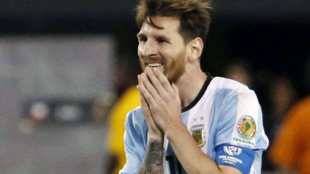 Hat es sich offenbar anders überlegt: Lionel Messi wird wohl bald wieder für Argentinien spielen