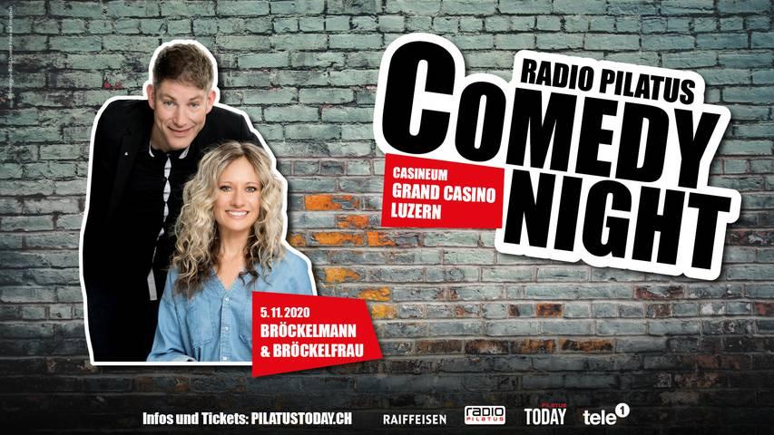 Comedy Night mit Bröckelmann und Bröckelfrau