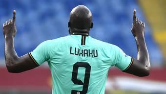 Romelu Lukaku führte Inter Mailand gegen Genoa mit zwei Toren zum Sieg