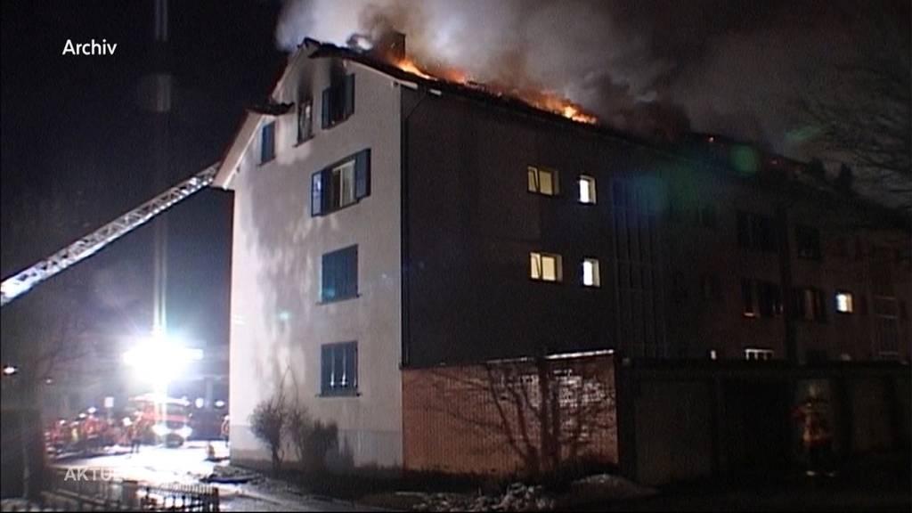 Déjà-vu bei Brand in Wangen bei Olten