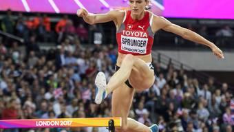Hürdenläuferin Lea Sprunger verpasst eine Medaille um gut acht Zehntelsekunden