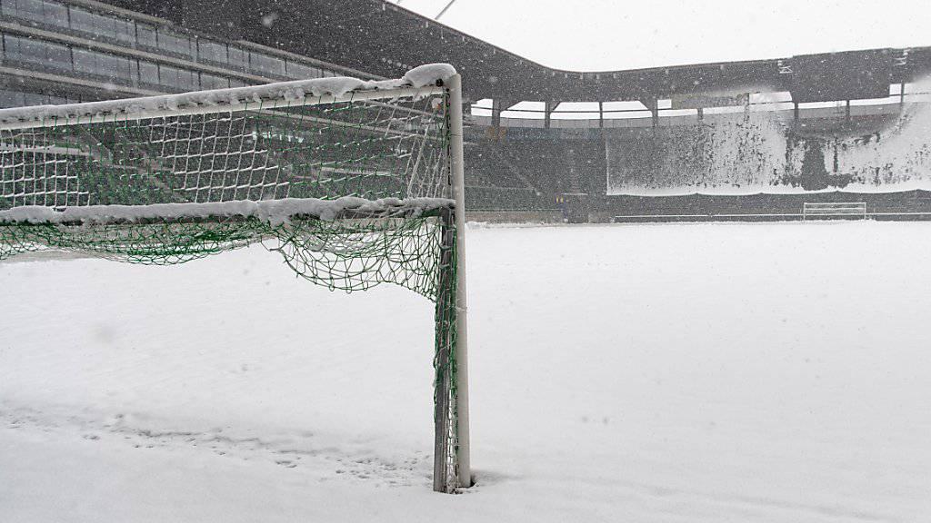 Die Spiele, die am Wochenende in der Super League wegen Schnees abgesagt werden mussten, sind alle in den kommenden neun Tagen angesetzt worden