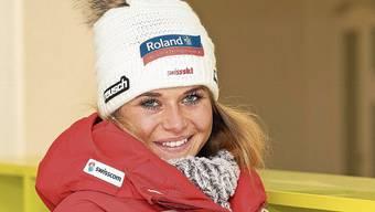 Corinne Suter sagt: Wer Rennen gewinnen will, der muss ans absolute Limit.
