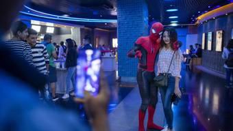 """""""Spider-Man: Far From Home"""" hat sich in der Schweiz am Wochenende vom 11. bis 14. Juli 2019 auf Platz 1 der Kinocharts gehalten. (Archiv)"""